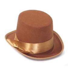 взрослые женщины мужской коричневый стимпанк Косплеи карнавальный костюм Top Hat