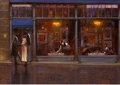 Fifth Avenue Café by Brent Lynch