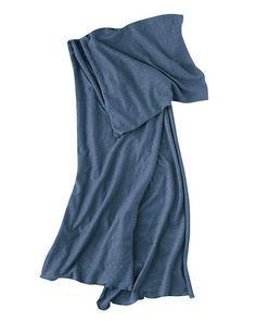 Jerseyschal aus purem feinsten Hanf One Shoulder, Shoulder Dress, Vegan, High Neck Dress, Dresses, Fashion, Dress, Accessories, Hemp