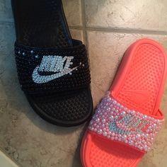 1147301e2ea6a 55 Best DIY Nike slides images