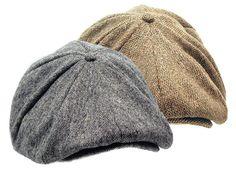 TWEED 8/4 GATSBY Cap NEWSBOY driving IVY wool hat Golf  $34.99