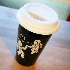 Astronaut Love Travel Mug | Bread and Badger