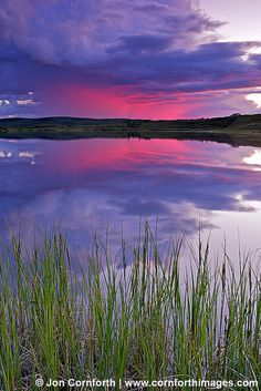 Denali Sunset, Virga Reflection by Cornforth Images, via Flickr; Denali National Park, Alaska