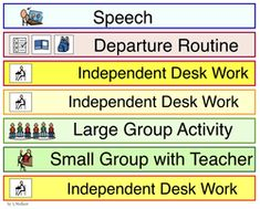 Victories 'n Autism: tons of printable labels, schedules, etc. Visual Schedule Printable, Schedule Cards, Printable Labels, Life Skills Classroom, Teaching Life Skills, Classroom Ideas, Mayer Johnson, Reading Centers