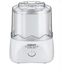 cuisinart ice cream machine - must have for peanut and nut allergies since all ice cream factories in US use peanuts & nuts