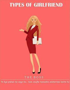 The Boss Types of #girlfriend  #GFRIEND #gftweet #factsnotfear #fact