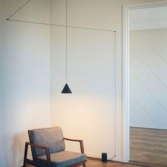 String Lights Modern Pendant Lamp by Michael Anastassiades