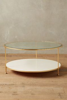 Lacquered Coffee Table - anthropologie.com