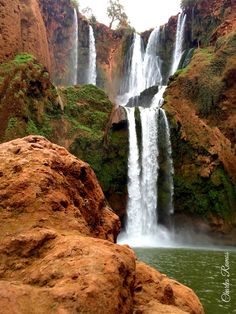 Falls and rock