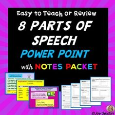 Grade 5 lesson plans 1st quarter to 4th deped lps chart parts of speech powerpoint with student handout grades 5 8 fandeluxe Choice Image