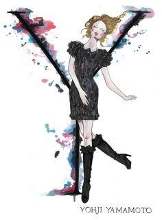 "Natalia Jheté. Alphabet Of Fashion. The A-Z Of Fashion - ""Yohji Yamamoto"""