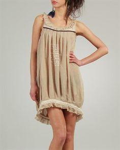 Ian Mosh Pleated Asymmetric Dress
