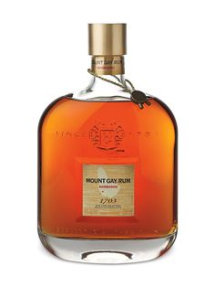 Mount Gay 1703 Old Cask Selection Rum; The oldest offering from Mount Gay; this will become your rum of choice | spiritedgifts.com