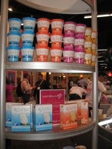 New Adonia Greek Frozen Yogurt by Ciao Bella is a hit at ExpoWest!