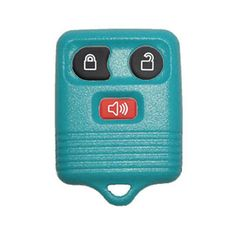 1999 - 2011 Ford Light Blue Remote Shell