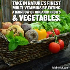 The Power Of The Rainbow: Nature's Finest Multi-Vitamins | #MealsThatHeal