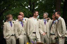 purple and khaki wedding   Rustic Canandaigua Lake New York Wedding