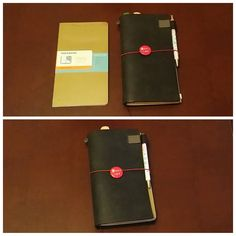 Moleskine Chapters Journal and Midori Traveler's Notebook