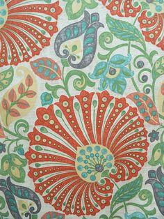 floral prints, drapery fabrics, home decor