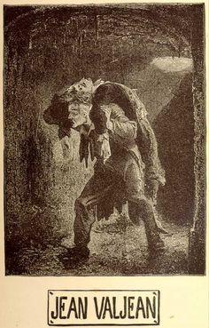 Jean Valjean. Emile Antoine Bayard, from 1862 edition of Les Miserables