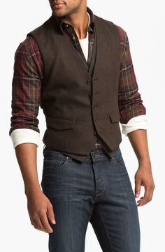 John Varvatos Star USA Double Layered Vest