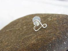 heart tragus ear ring