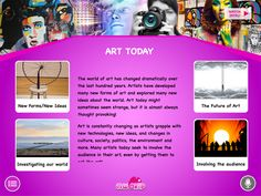 Educational games for kids and digital learning apps for today's schools: it's MWorld.  (It's beautiful, it's stunning... it's MWorld's 'Art Today'!)
