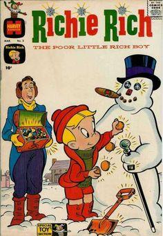 Harvey Comics - Snowman - Jewels - Butler - Wealth