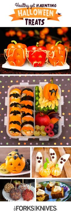 Haunting but Healthy Halloween Treats