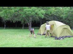 【BE-PAL】ビッグアグネス/ワイオミングトレイル4 キャンプ 【設営テスト】 - YouTube