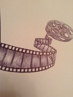 Film reel drawingn @myignisrules This has your name written all over it
