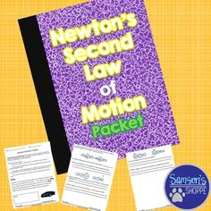 Newton's 2nd Law of Motion Activity Students will practice using the formula force equals mass times acceleration in various word problems to practice Newton's Second Law of Motion.