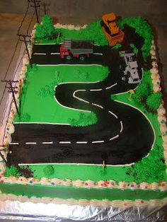 """3"" year old Birthday Cake"