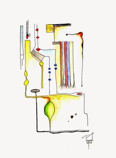 coisas de pintura:  TÉCNICA MISTA SOBRE PAPEL - 2015
