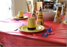Curious George Party- Simplified