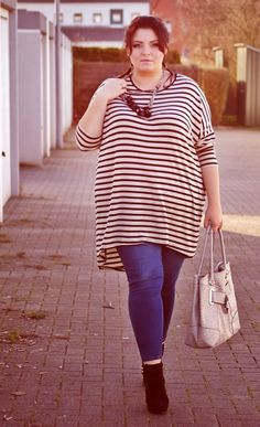 CONQUORE · The Fatshion Café | Plus Size Blog: Tunika from H&M + plus size outfit