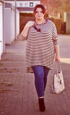CONQUORE · The Fatshion Café | Plus Size Blog: Tunika from H&M + plus size outfit