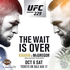 How long until the UFC 229 Nurmagomedov vs McGregor mega fight on? If you want to watch 229 UFC PPV live event online for free. Ufc Live Stream, George St Pierre, Dana White, Ufc Fighters, Reigning Champ, Ufc Fight Night, Bt Sport, Ultimate Fighting Championship, Conor Mcgregor