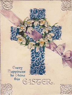 vintage crosses | Maximum Embellishment: VINTAGE EASTER SUNDAY IMAGES