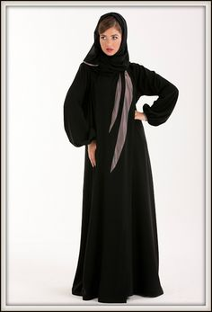 Latest Abaya Designs 2012 Dubai
