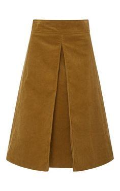 Tory Burch Rowen Corduroy Skirt