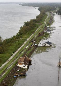 Aerial photos reveal flood damage from Hurricane #Isaac (Photo: Gerald Herbert / AP)
