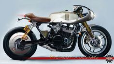 Honda Cafe Racer design by PVCINCOTTA - Creare Special in Garage #motorcycles #caferacer #motos | caferacerpasion.com
