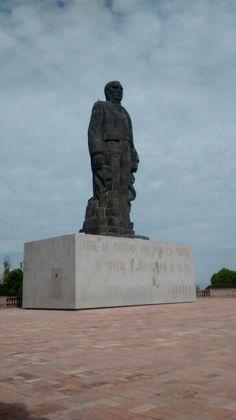 B. Juarez en el cerro de las Campanas, Qro. Mex.