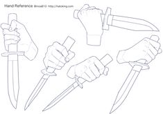 How To Draw Manga Weapons Hand Holding 69 Ideas Drawing Lessons, Drawing Techniques, Drawing Tips, Anatomy Sketches, Body Sketches, Anatomy Drawing, Hand Drawing Reference, Art Reference Poses, Art Poses