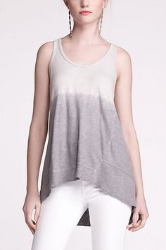 Fade In Tank #anthropologie
