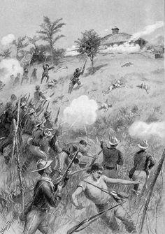 1898 batalla de las Lomas de San Juan www.maxiCUBA.com