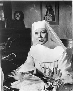 The Singing Nun MGM Movie- Greer Garson as Mother Superior ...