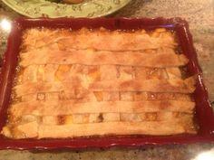 C cooked Peach Cobbler