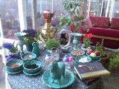 My Persian Corner: Iranian Nowruz- Haft Seen Table